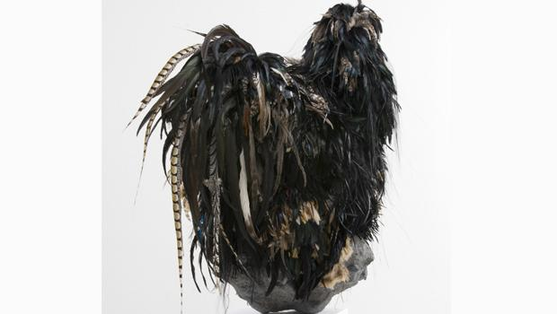 Untitled #150 (Black Chicken #1). Simen Johan, 2009.