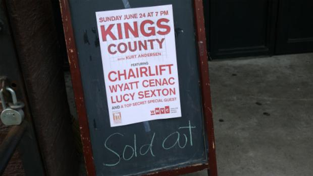 The June 24th show at the Bell House included the comedian Wyatt Cenac, the band Chairlift and co-host Lucy Sexton.