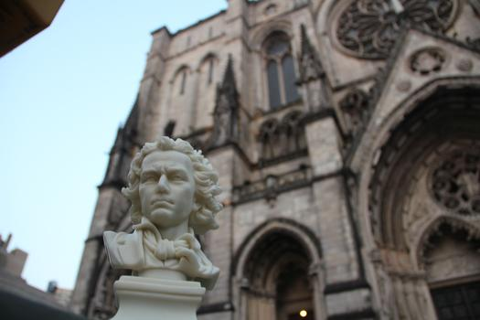 Photo No. 7 (Nov. 9) Answer: Cathedral Church of Saint John the Divine.