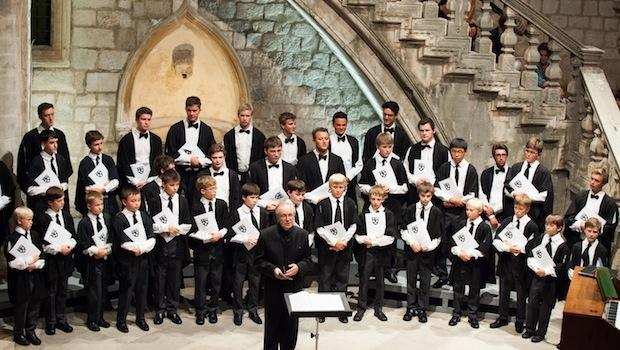 Stephen Cleobury Conducts the King's College Choir of Cambridge at the Dubrovnik Festival