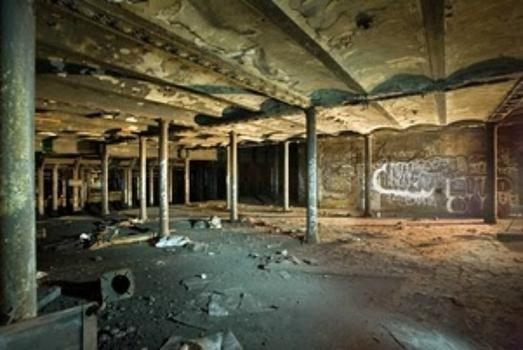 Abandoned subway at E 18th Street in Manhattan.