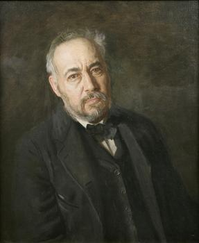 Thomas Eakins created this self-portrait in 1902.
