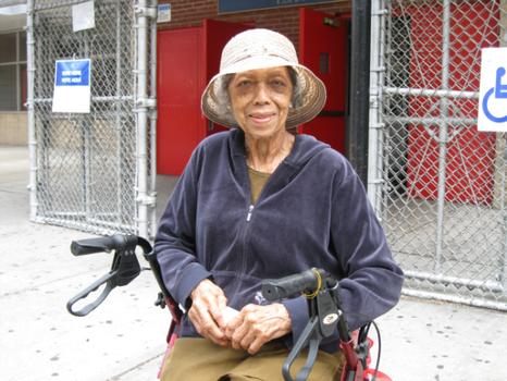 G. Marilyn Alexander, 94, has voted for Rangel in every election since he ran for office.