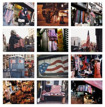 Yoko Inoue: Flag Goods on Canal Street