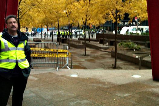 Zuccotti Park cleared after protesters were told to leave temporarily.