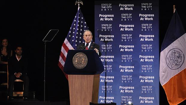 Mayor Bloomberg said the city has cut spending nine times in the past three years, and it's facing cuts more severe than ever.