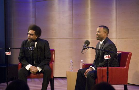 Dr. Cornel West and Dr. Eddie Glaude