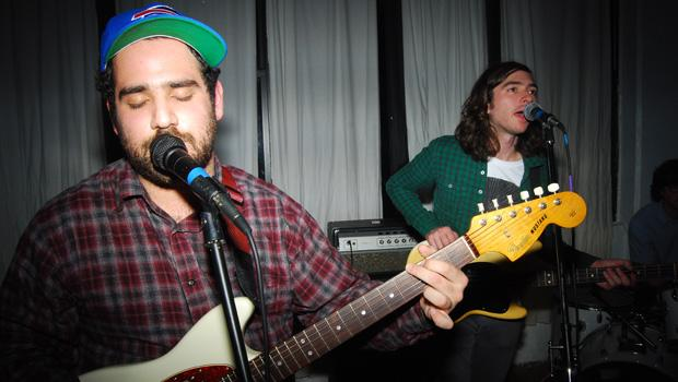Alex Bleeker and the Freaks performed at a Bushwick loft party on March 6.
