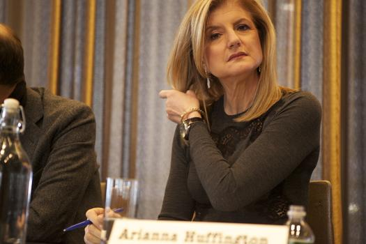 <strong>Arianna Huffington, founder of Huffington Post</strong>