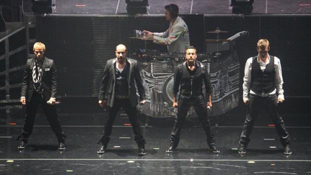 Backstreet Boys performed at Hammerstein Ballroom  on June 10.