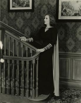 Tallulah Bankhead in Foolish Notion (1945), as dressed by Mainbocher