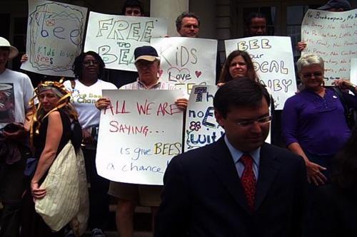 Councilman David Yassky is sponsoring a beekeeping bill