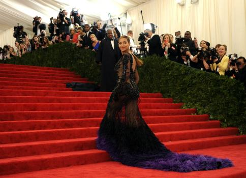 Being a new mom didn't stop singer Beyoncé Knowles from coming to the Met ball in Givenchy.
