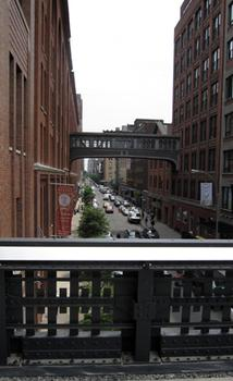 It is 30 feet above the boutiques in the Meatpacking District.