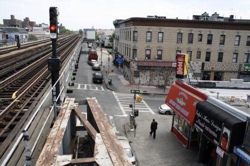 Sotomayor\'s childhood neighborhood in 2009.