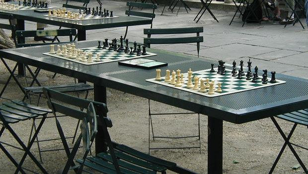 Head over to the chess and ping-pong tables at Bryant Park to get your game on.
