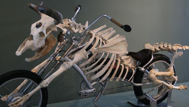 Mad Cow Motorcycle. Billie Grace Lynn, 2008