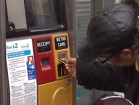 Riders pre-pay before boarding the Bronx Select, saving time.