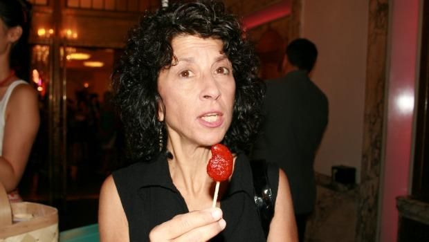 "Karyn Caruso, visiting from Florida, was not enthused about the mango-chilli lollipop she tried as part of the opening for the exhibit. ""I thought it would be sweet,"" she said, ""but it's spicy."""