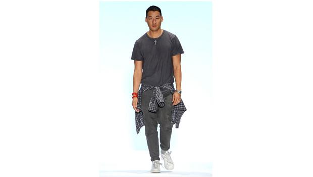 September 9, DAY 1: Richard Chai represents on the runway at his 2011 Spring Presentation.