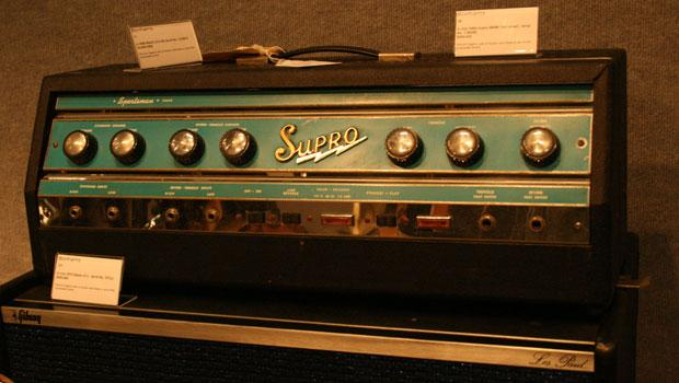 This 1960s Supro S6698 Sportsman amp sold for $28,060 at auction on Wednesday.