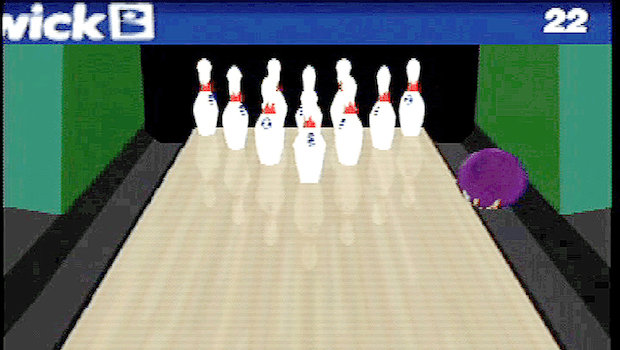 Cory Arcangel (b.1978), Still from Various Self Playing Bowling Games (aka Beat the Champ), 2011.