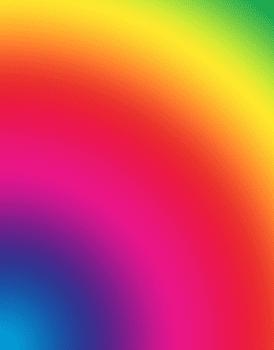 """Cory Arcangel (b.1978), Photoshop CS: 84 by 66 inches, 300 DPI, RGB, square pixels, default gradient """"Spectrum."""""""
