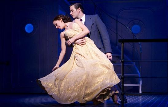 "Old-fashioned romance is also revived in ""Anything Goes."""