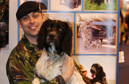 Sgt. Jody Honeywood and Theo (Courtesy of onEdition)