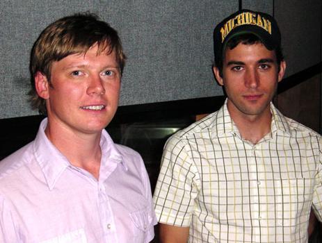 Daniel Smith (left) and Sufjan Stevens