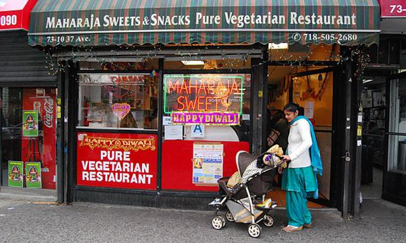 The Maharaja Sweets and Snacks shop has been selling pounds of pounds of sweets for the past four days.