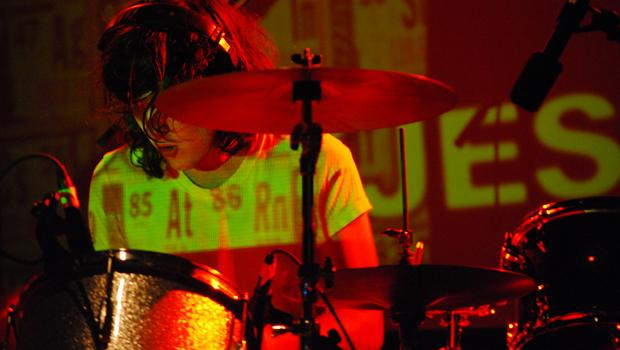 Indie-rock project DOM performs on Governors Island on August 14.