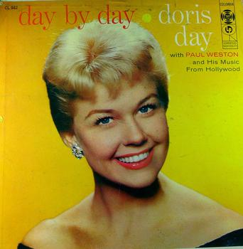 "Doris Day's ""Day by Day"" album, out on Columbia Records on December 17, 1956."
