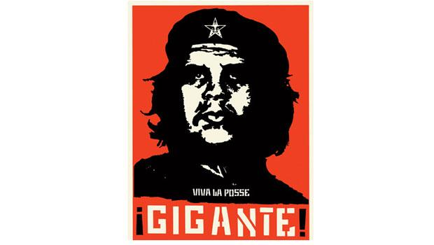 "One of Fairey's ""Viva La Posse"" pieces, which uses Che Guevara as its muse."