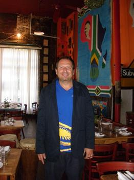 Madiba Owner Mark Hanegan
