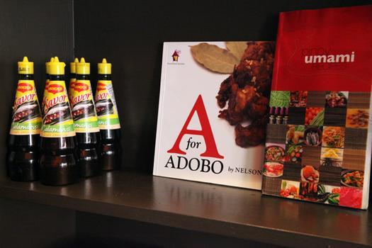 A cookbook at Maharlika.