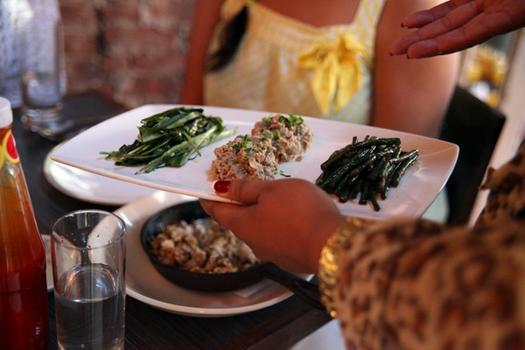 Appetizers at Maharlika.