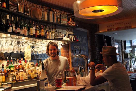 The bar at Maharlika.