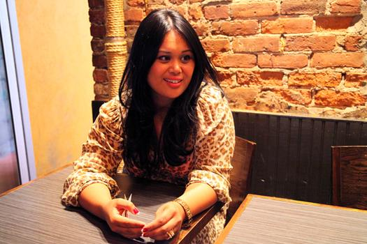 Nicole Ponseca, owner of Maharlika.