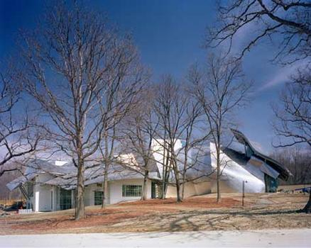 The Richard B. Fisher Center for the Performing Arts at Bard College, designed by Frank Gehry