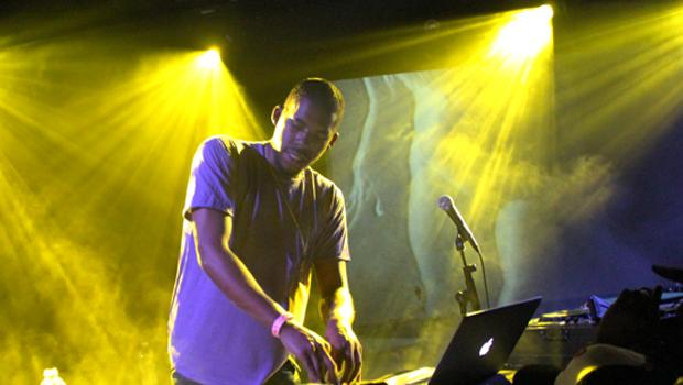 Flying Lotus performed at Le Poisson Rouge in Greenwich Village on March 30.