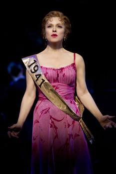 "Bernadette Peters plays Sally Durant Plummer in ""Follies"" on Broadway."