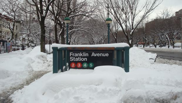 The Franklin Avenue 2/3/4/5 stop on January 27.