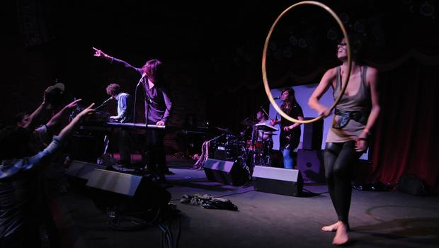 French Horn Rebellion performed at Brooklyn Bowl in Williamsburg on June 12.