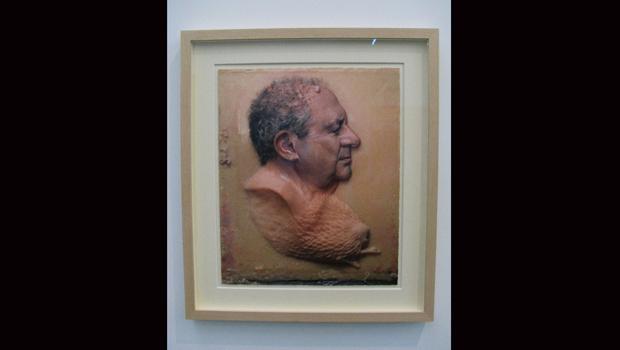 Megas Dakis, 2007 by Roberto Cuoghi. (A protrait of Dakis Jounnai)