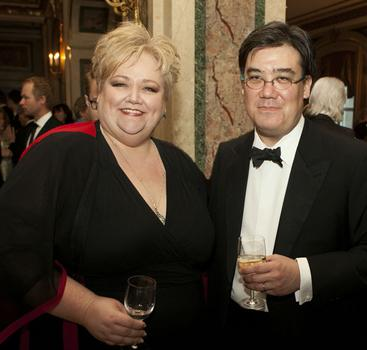 Stephanie Blythe and Alan Gilbert.