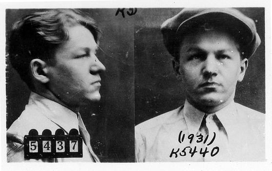 """Lester M. Gillis, aka """"Baby Face"""" Nelson"""