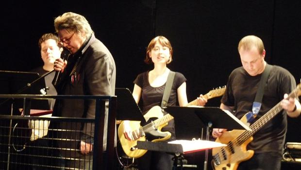 The Glenn Branca Ensemble performed at Le Poisson Rouge in Greenwich Village on February 27.