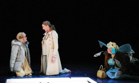 "New Georges also produced ""God's Ear"" in 2007, which was written by Jenny Schwartz, directed by Anne Kauffman and starred Monique Vukovic, Christina Kirk and Judith Greentree."