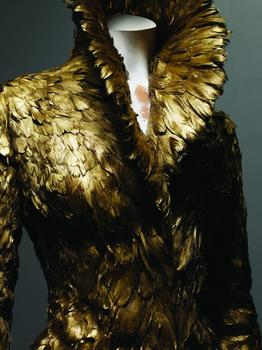 And finally, gold feathers.